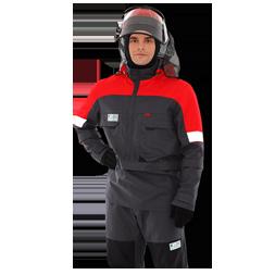 Термостойкий костюм с защитой от клещей