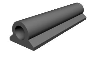 Резина уплотнительная (профильная) 86.029.03