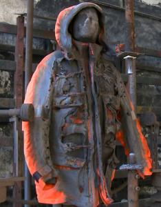 костюм после воздействия эл. дуги