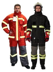 Защитная одежда пожарных-спасателей