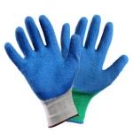 Перчатки нейлоновые с рифленым латексным покрытием OILRESIST